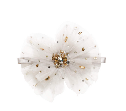 Tutu Du Monde GLISTENING JEWELS HEADBAND in DOVE