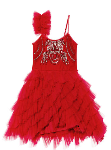 Tutu Du Monde CHERRY DELIGHT TUTU DRESS in CHERRY RED