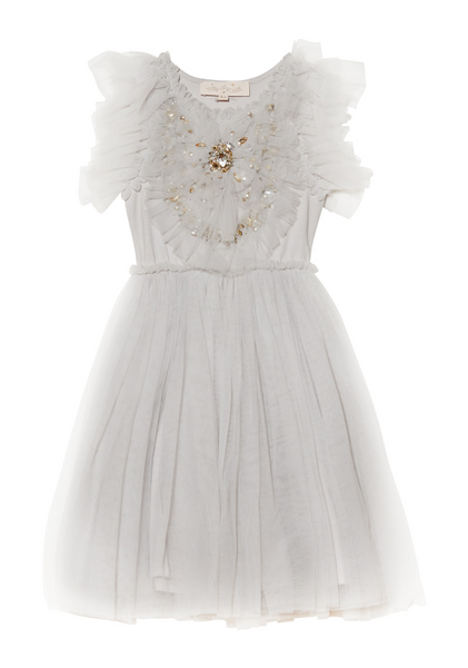 Tutu Du Monde DAZZLING HEART TUTU DRESS in DOVE