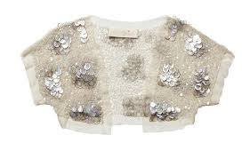 Tutu Du Monde Seashell Shrug available for rent from The Borrowed Boutique.