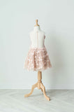 Soapbox Darling Wildflower Dress In Mocha and Soft Pink