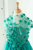 Soapbox Starflower Cape In Emerald Green