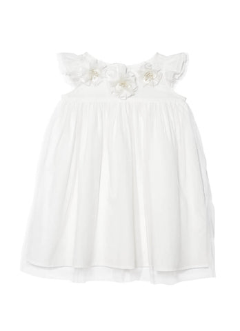 Tutu Du Monde Delicate Daisy Dress in Milk