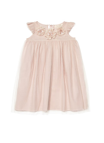 Tutu Du Monde Delicate Daisy Dress in Orchid