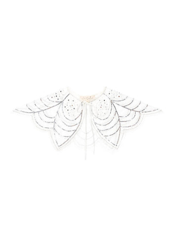 Tutu Du Monde Angelic Cape in Milk/Silver