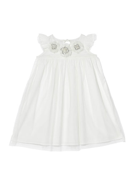Tutu Du Monde BÉBÉ Beautiful Blossom Dress In Milk available for rent from The Borrowed Boutique.