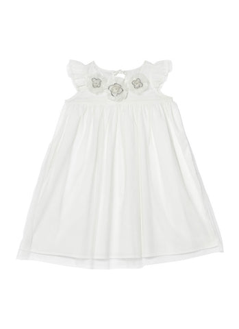 Tutu Du Monde Beautiful Blossom Dress In Milk