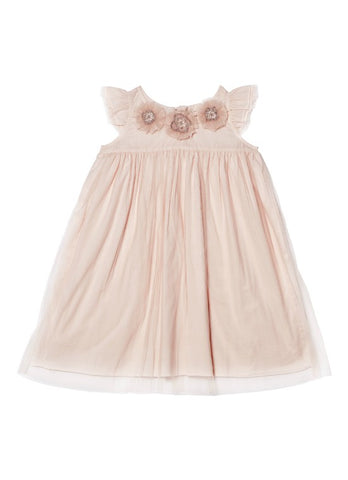 Tutu Du Monde BÉBÉ Beautiful Blossom Dress In Wisp available for rent from The Borrowed Boutique.