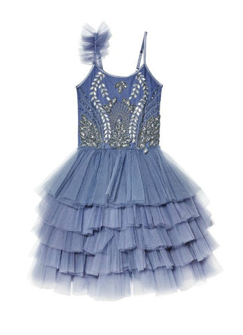 Tutu Du Monde Blue Bird Tutu Dress In Shadow