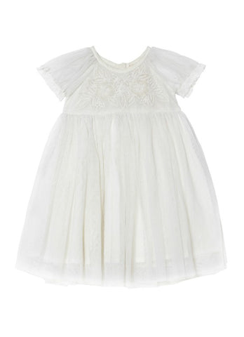 Tutu Du Monde BÉBÉ Olivia Tutu Dress In Milk