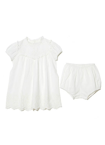 Tutu Du Monde BÉBÉ Clementine Dress In Milk