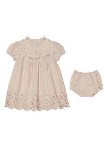 Tutu Du Monde BÉBÉ Clementine Dress In Blush available for rent from The Borrowed Boutique.