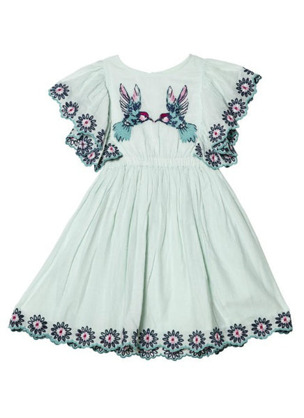 Tutu Du Monde Sparrow Song Dress In Peppermint