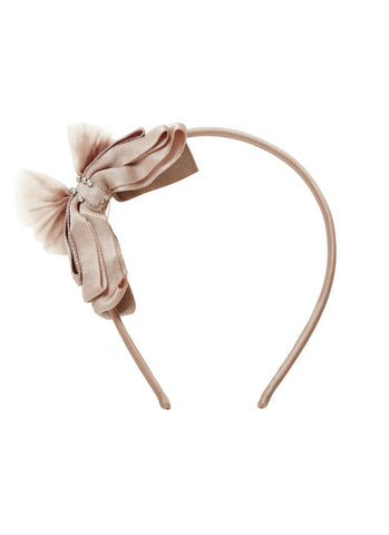 Tutu Du Monde Love Letter Headband In Blush
