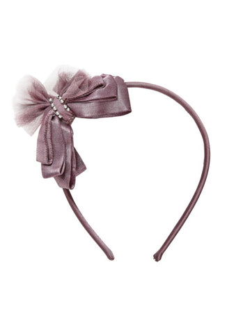 Tutu Du Monde Love Letter Headband In Fig