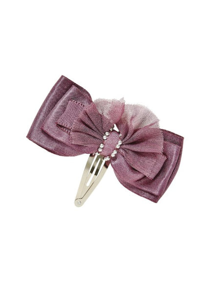 Tutu Du Monde Love Letter Hair Clip In Fig