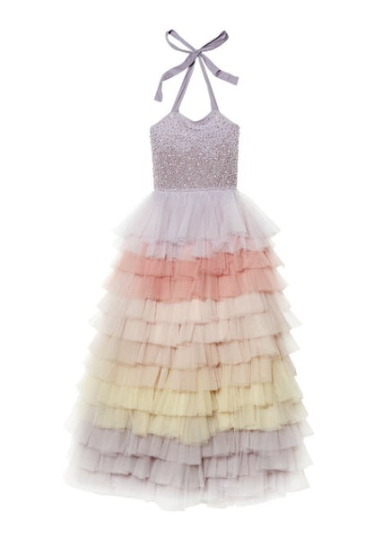 Tutu Du Monde Waterfall Tutu Dress (Long) In Fog