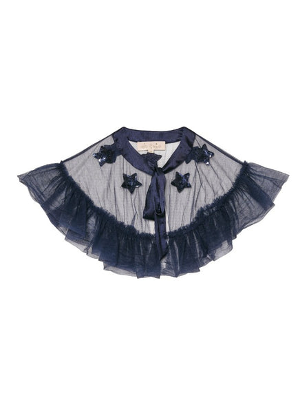 Tutu Du Monde Starry Night Cape In Midnight