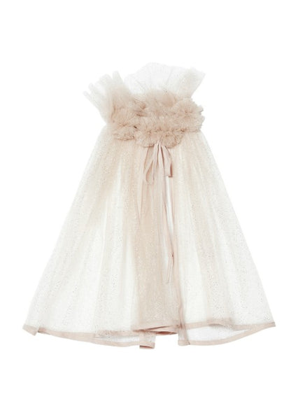 Tutu Du Monde BÉBÉ Shimmer & Sparkle Cape In Blush available for rent from The Borrowed Boutique.