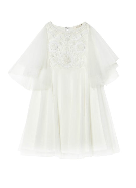 Tutu Du Monde Hearts A Flutter Tutu Dress in Milk