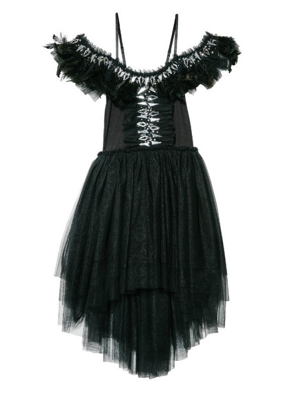 Tutu Du Monde Crow Tutu Dress In Black.