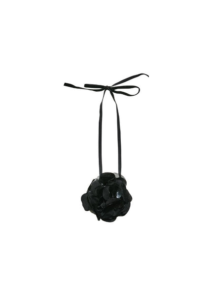 Tutu Du Monde Bleeding Rose Choker In Black