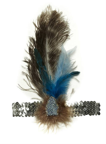 Tutu Du Monde Birdsnest Feather Headband available for rent from The Borrowed Boutique.