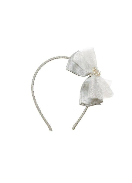 Tutu Du Monde Lost Pearl Headband in Glacier available for rent from The Borrowed Boutique.