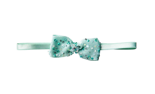 Tutu Du Monde To The Moon Headband in Turquoise available for rent from The Borrowed Boutique.