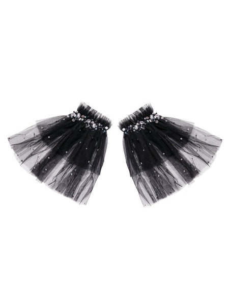 Tutu Du Monde Enchanted Wings Arm Cuffs In Black