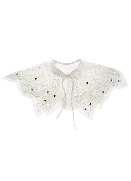 Tutu Du Monde In Bloom Cape in Milk available for rent from The Borrowed Boutique.