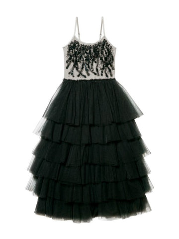 Tutu Du Monde Masked Beauty Tutu Dress In Black