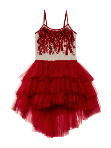 Tutu Du Monde Scarlet Superstition Tutu Dress In Scarlet