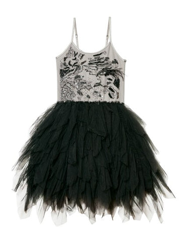 Tutu Du Monde Smoke and Mirrors Tutu Dress In Silverlining