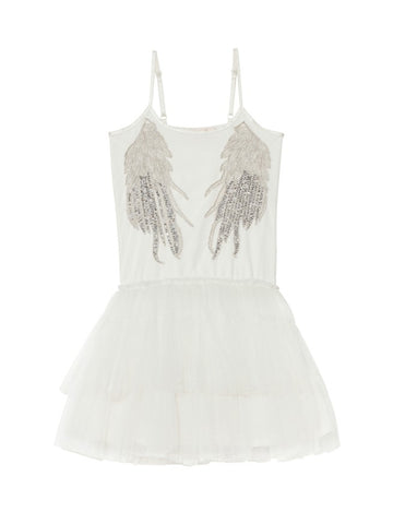 Tutu Du Monde Whispers in the Wings Tutu Dress In Milk