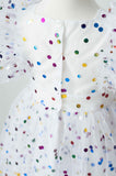 Sadie Then Ty Tiffany Confetti Tulle Party Dress