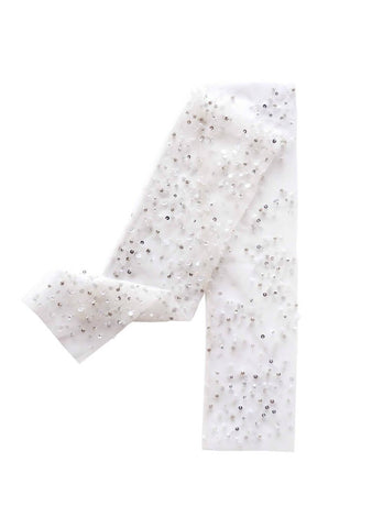 Rent Tutu Du Monde Tinsel Toe Leggings In Milk from The Borrowed Boutique.