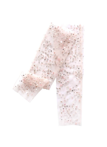 Rent the Tutu Du Monde Tinsel Toe Leggings In Rose from The Borrowed Boutique.
