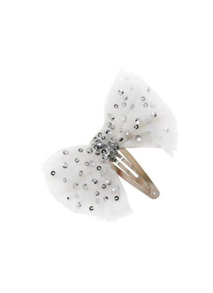 Tutu Du Monde Crystal Jubilee Hair Clip in Milk available for rent from The Borrowed Boutique.