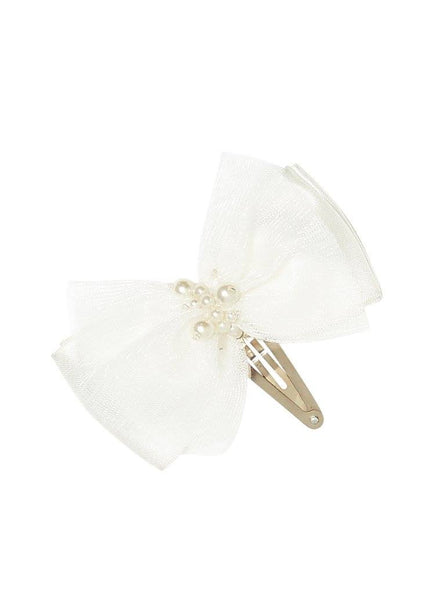 Tutu Du Monde Lost Pearl Hair Clip in Milk available for RENT from The Borrowed Boutique.