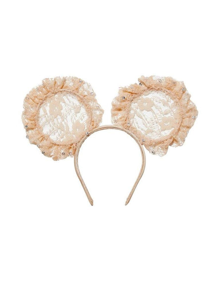Tutu Du Monde Mini Me Headband in Biscotti available for rent from The Borrowed Boutique.