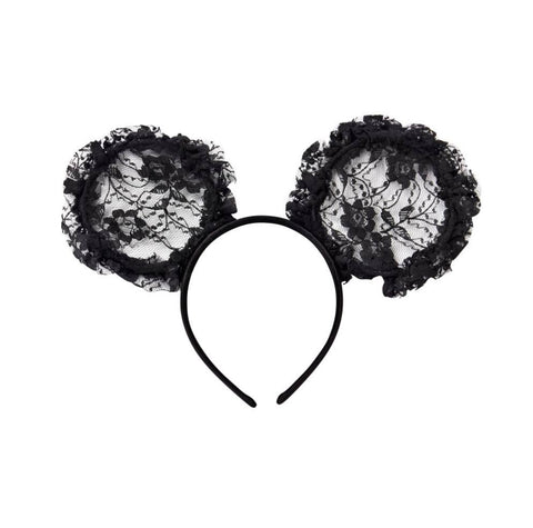 Tutu Du Monde Mini Me Headband in Black available for rent from The Borrowed Boutique.