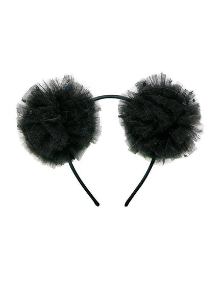 Tutu Du Monde Mousy Me Headband in Black available for rent from The Borrowed Boutique.