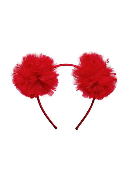 Tutu Du Monde Mousy Me Headband in Scarlet available for rent from The Borrowed Boutique.