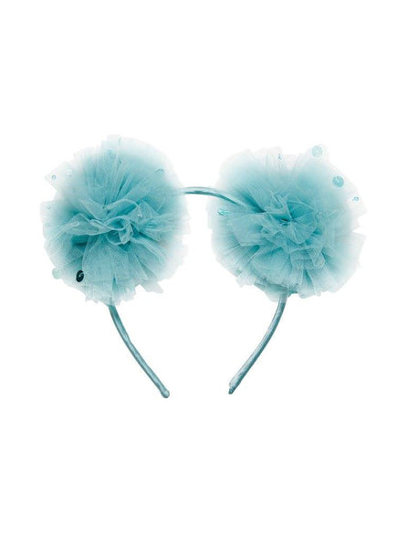 Tutu Du Monde Mousy Me Headband in Seaglass available for rent from The Borrowed Boutique.