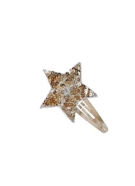 Tutu Du Monde Shooting Star Hair Clip in Gold available for rent from The Borrowed Boutique.