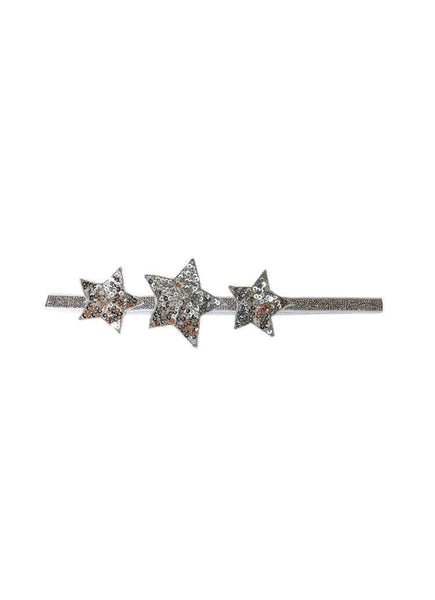 Tutu Du Monde Shooting Star Headband in Silver available for rent from The Borrowed Boutique.