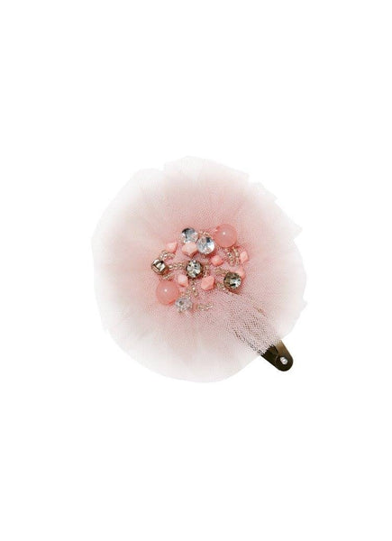 Tutu Du Monde Snow Gems Hair Clip in Musk available for rent from The Borrowed Boutique.