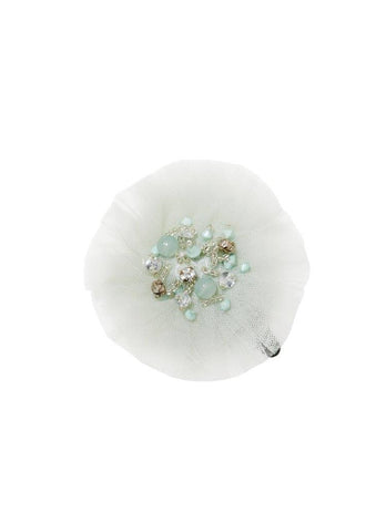 Tutu Du Monde Snow Gems Hair Clip in Raindrop available for rent from The Borrowed Boutique.