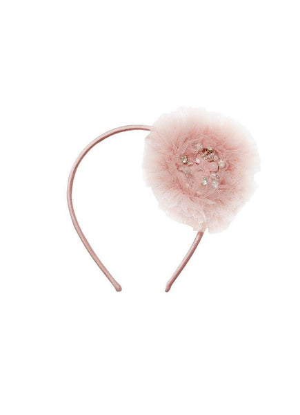 Tutu Du Monde Snow Gems Headband in Musk available for rent from The Borrowed Boutique.